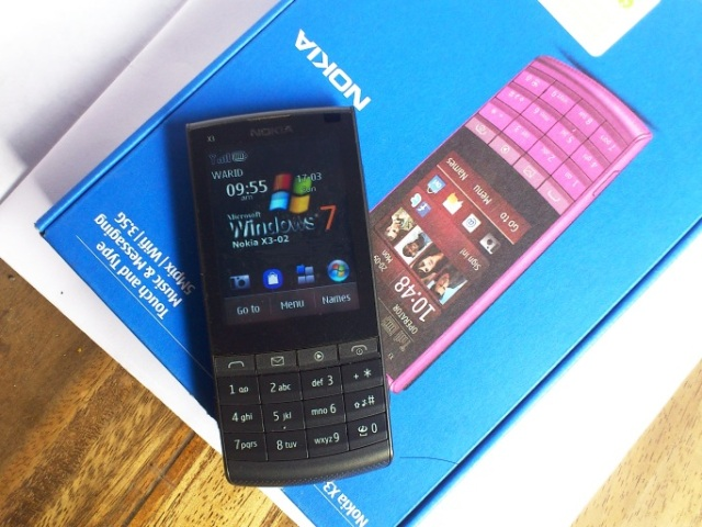 manual nokia x3 touch and type