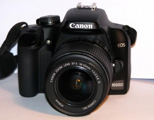 Canon 1000D 18-55mm with marumi filter 17-85mm Lens