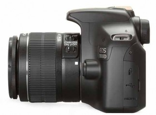 Canon 1100D with 18to55.The camera House