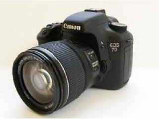 Canon EOS 7D CMOS DSLR Camera with EF 28-135mm Lens