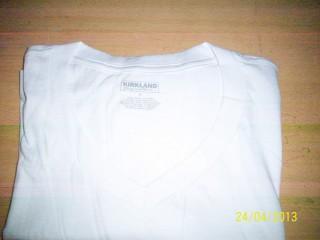 V Neck Pima cotton Basic T-Shirt