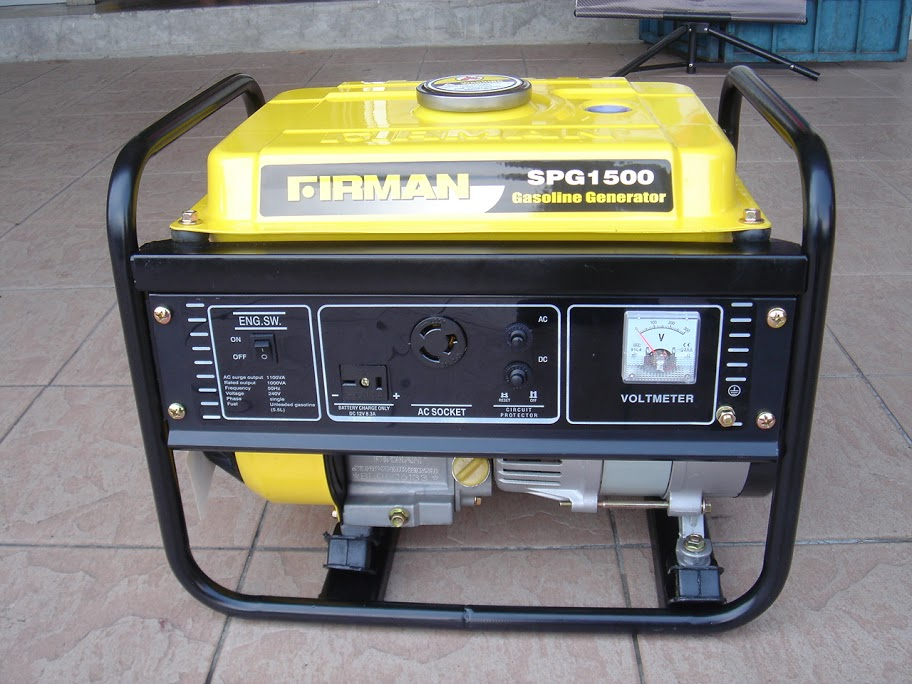 Firman generators Model-spg1500 | ClickBD large image 0