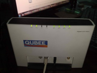 Qubee Gigaset Modem for Postpaid. Cell- 01739496906