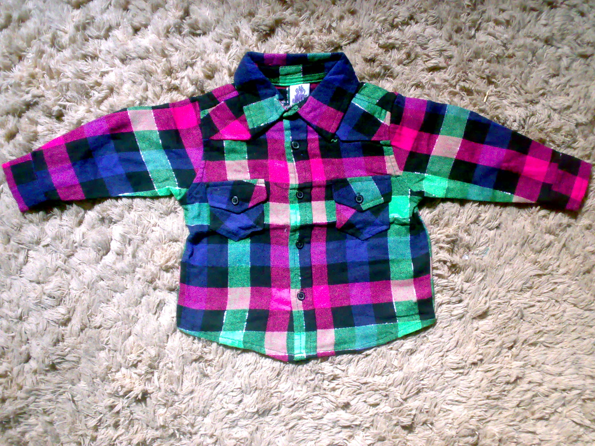 kids shirt fabric - Flanel  | ClickBD large image 0