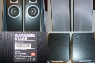 JBL VENUE SERIES 3 WAY SPEAKER BOXED.