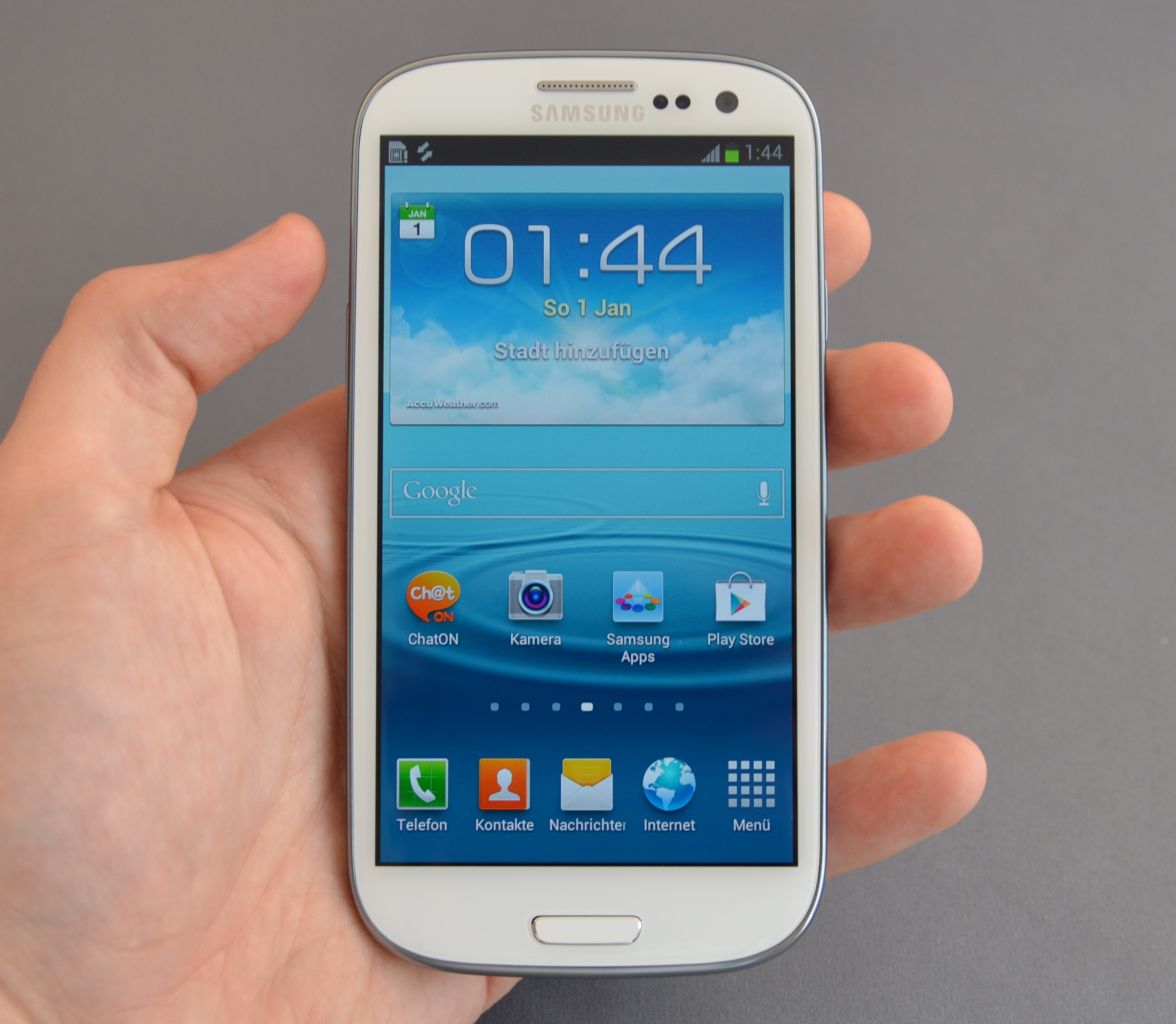 Galaxy S3 White New Condition Brought From Au