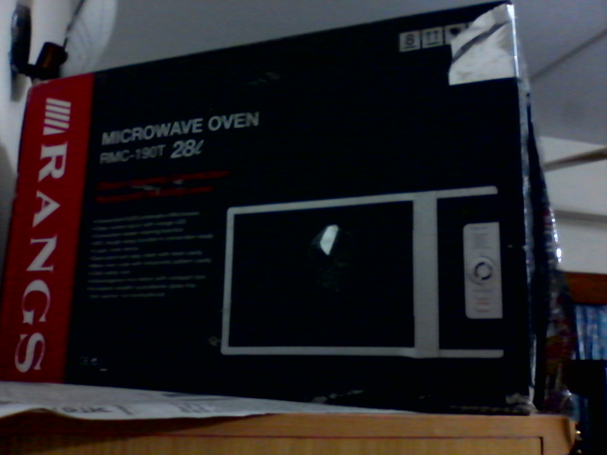 Rangs micro oven RMC 190t 28L | ClickBD large image 0