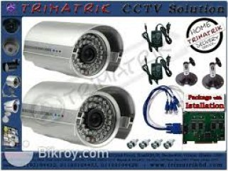 CCTV Camera bundle pack with instalation facility