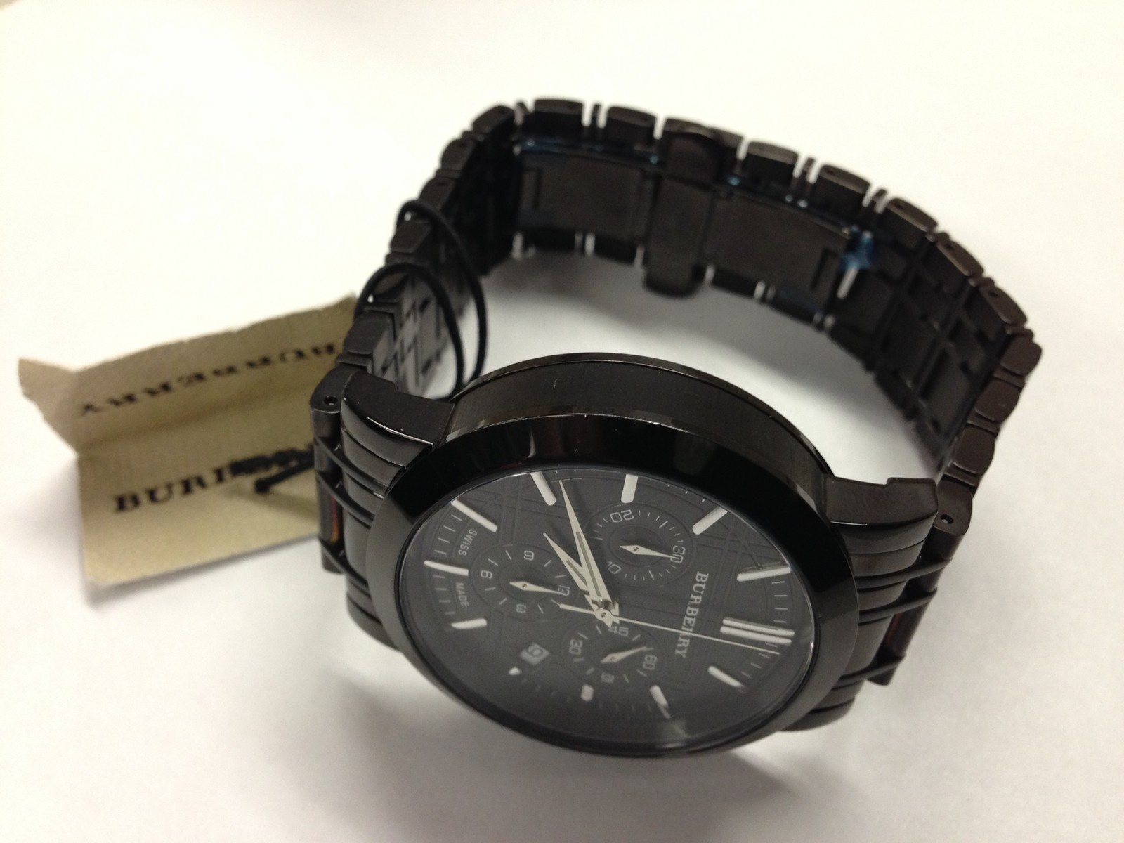 Get Exclusive Swiss brand.Burberry Watch | ClickBD large image 3