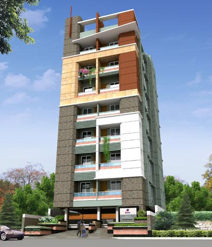 Quantum Saifullah Tower At Uttara 1086 Sft 3 Bed 3 Bath Clickbd
