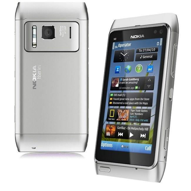 NOKIA N8 WHITE AT CHEAP PRICE call 01811648354 | ClickBD