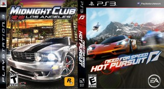 PS3 NFS Hot Pursuit trading with Midnight Club Los Angeles