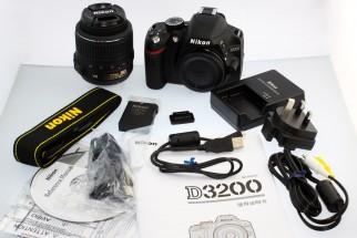 Brand New Nikon D3200 Full Boxed 24MP camera