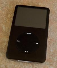 iPod Classic 30 GB Black