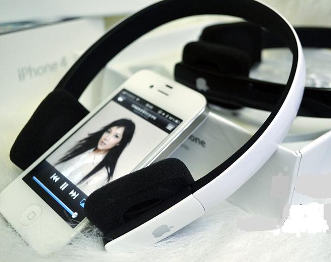 orginal apple bluetooth headset ds610 white clickbd. Black Bedroom Furniture Sets. Home Design Ideas