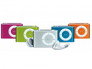 iPOD Shuffle 2GB With Different Colors
