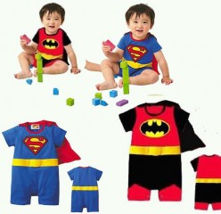 Baby Romper Batman Suit