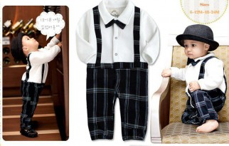 Baby Boy Suit Romper