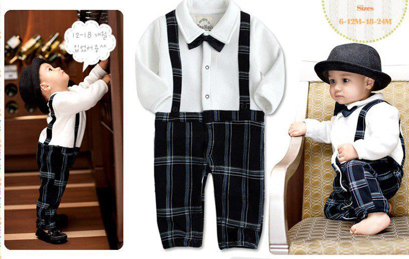 Baby Boy Suit Romper | ClickBD large image 0