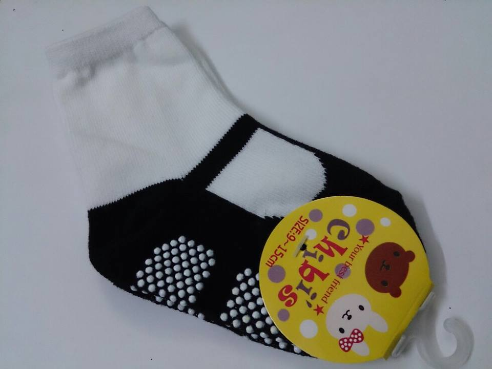 Baby Anti-slip Shoe Type Socks | ClickBD large image 0