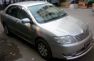 Rent Toyota x corolla Modle-2006 Reg-2011 serial-31