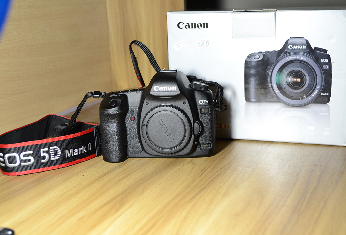 Canon 5D Mark II Body with month Warranty | ClickBD large image 1