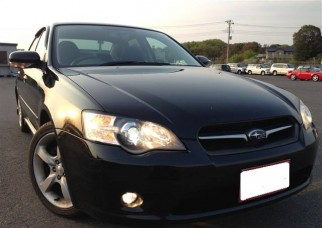 2006 Subaru Legacy B4 2.5 Ltr V6 Sports-171 HP-240km h Top