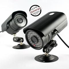 4 CCTV Jin Cameras with Avtech 4 Channel Standalone DVR