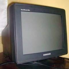 Samsung 17 Full Flat CRT TV Card