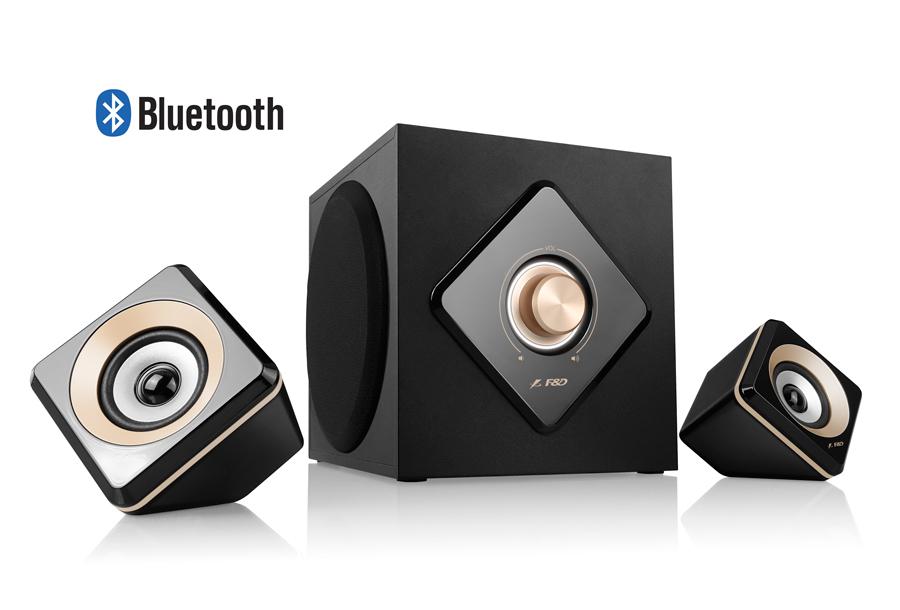 F D 2.1 Bluetooth MULTIMEDIA SPEAKER | ClickBD large image 0