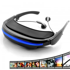 52 Inch Wide Screen Display, Virtual Private Theater Glasses