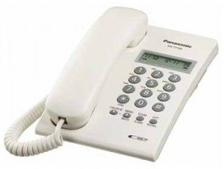 Panasonic KX-T7703 Single Line Telephone Set with Caller-ID