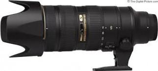Nikkor 70-200mm VRII F2.8