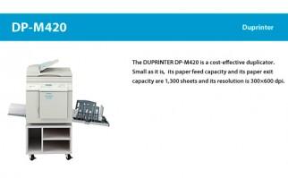 Duplo Duprinter DP-M420 A3 Digital Duplicating Machine