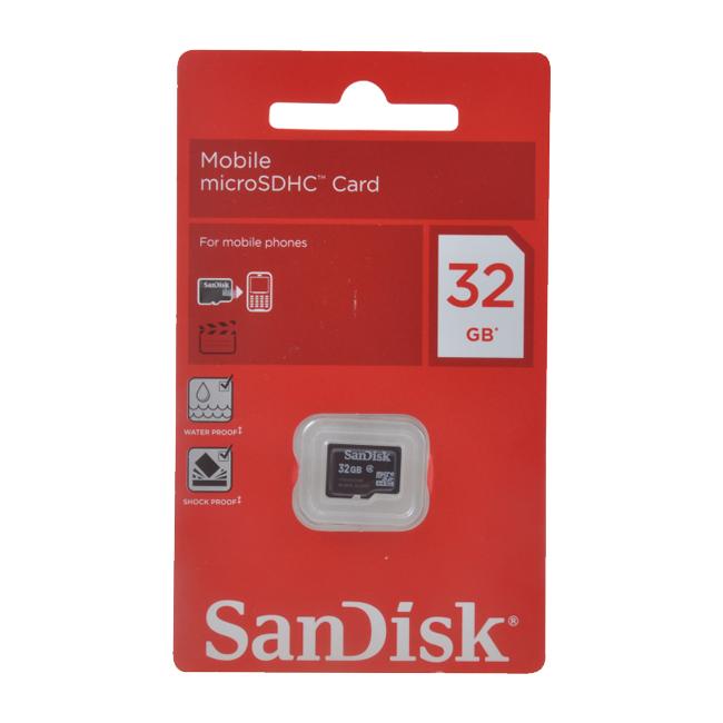 Sandisk 32 Gb Memory Card Clickbd