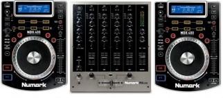 Numark ndx400 with m6 mixer