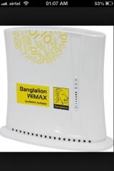 banglalion wimax indoor modem