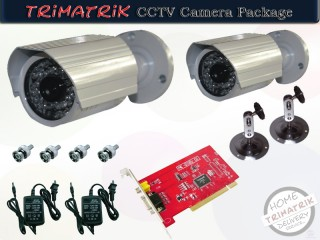 CCTV Special Offer 2 CCTV Package With All Accessories