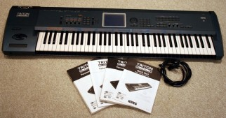intec fully new Korg Triton Extreme key keyboard