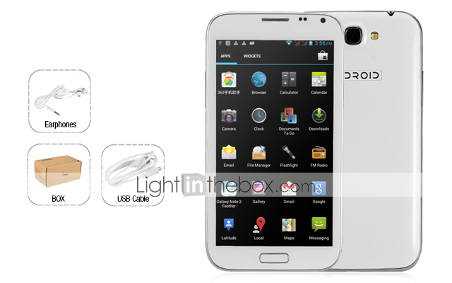 N7100 Android HD AMOLED 3G WIFI 1GB RAM 8GB ROM  | ClickBD large image 3