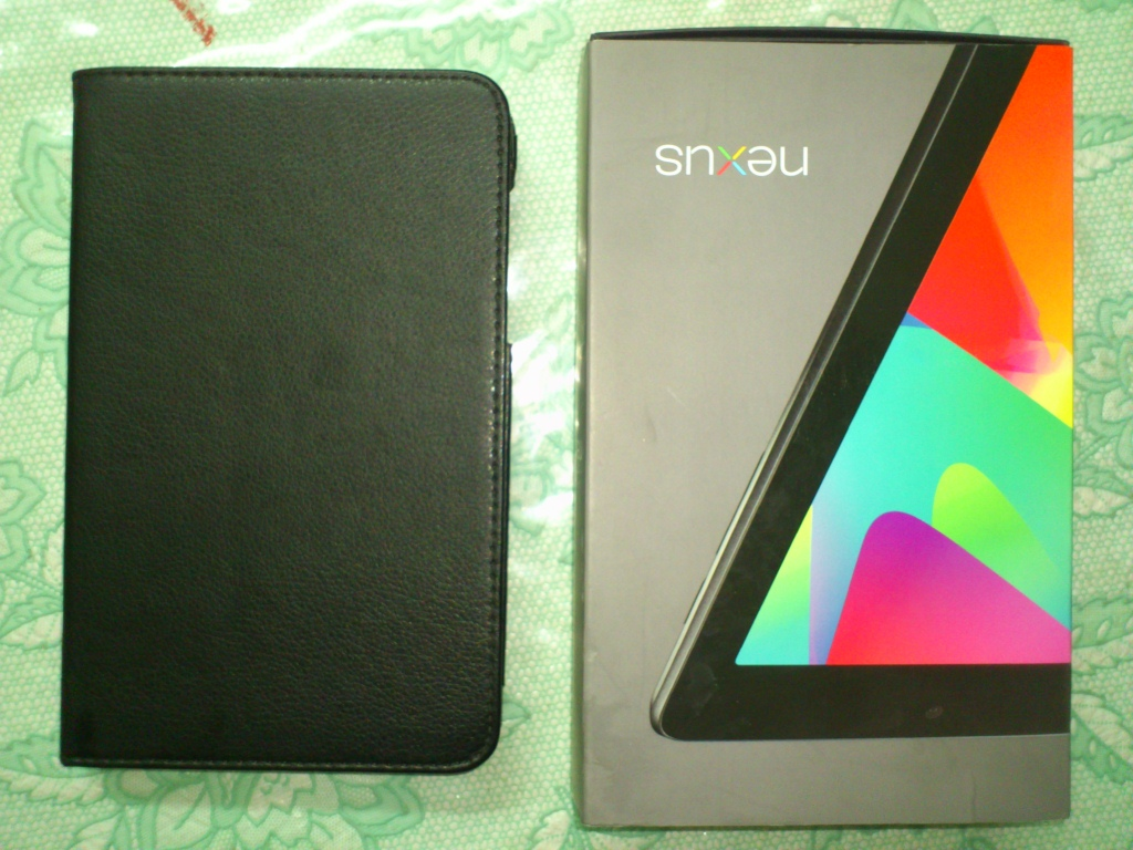 Nexus 7 32GB Wifi 3G with cover