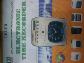 LEVER TIME RECORDERS
