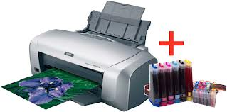 Epson R230 Printer With Drum Id Card Printing System Clickbd
