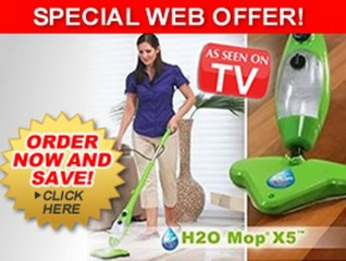 H2O Mop X5. As Seen On TV.
