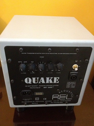 REL QUAKE SUBWOOFER Made In UK | ClickBD large image 0