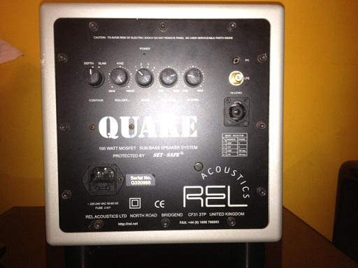 REL QUAKE SUBWOOFER Made In UK | ClickBD large image 1