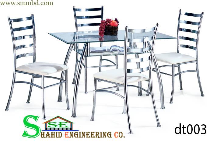 Steel Dining Table ClickBD : 10959210original from www.clickbd.com size 690 x 465 jpeg 141kB