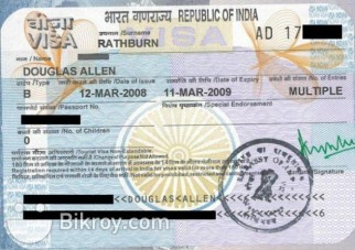 Indian Multiple Visa for 6 Month