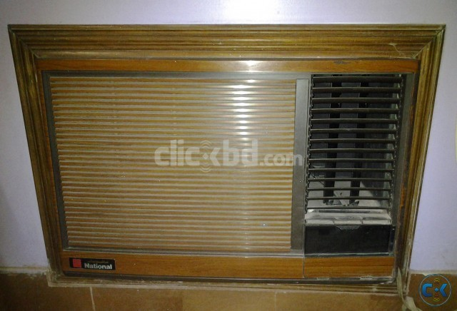 Favorite National Brand 1.5 Ton Window Type AC with Wooden Frame | ClickBD NO04