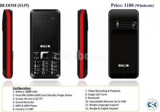 Brand New Smart Handset- BLOOM Long time Standby
